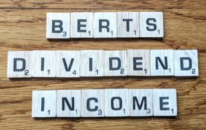 Dividend Income, dividend stocks, January dividend