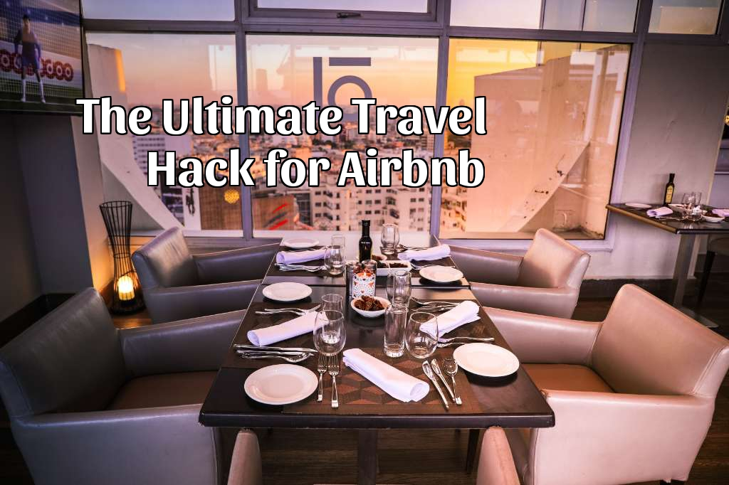 airbnb, travel hack, miles, points