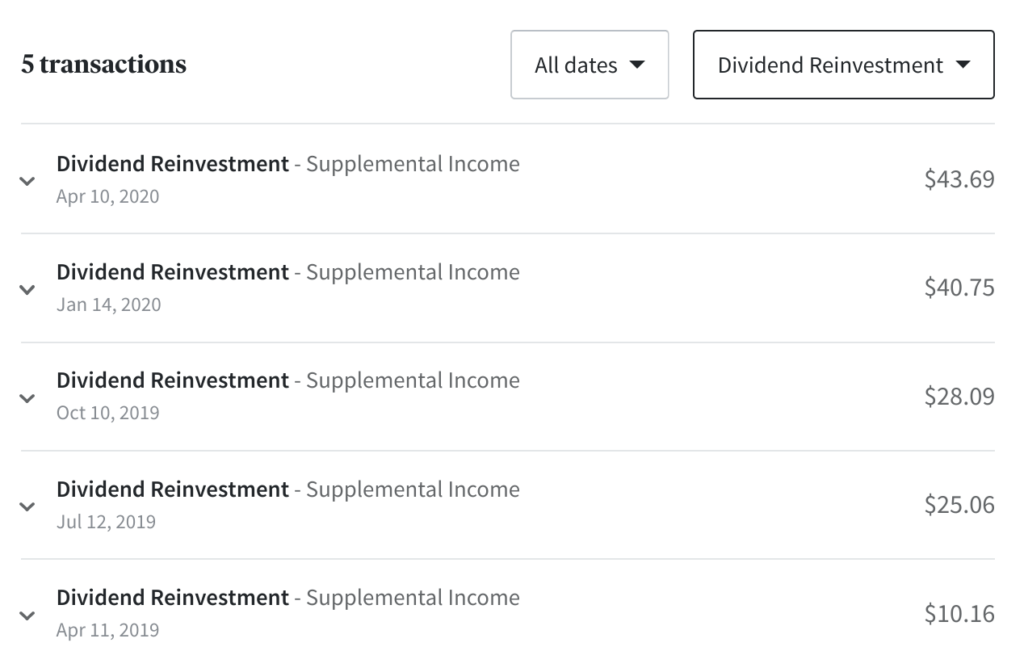 fundrise dividend reinvestment